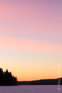 Alex Wünsch Naturfotografie Finnland Winter Schnee See