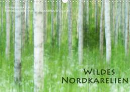 Fotokalender Finnland Naturfotografie Alexandra Wünsch Einblick Natur Wildes Nordkarelien Titelblatt