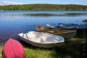 Alex Wünsch Naturfotografie Nordkarelien Finnland Ruderboot