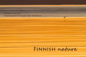 Nature photography Alex Wünsch Alexandra Einblick Natur calendar finland