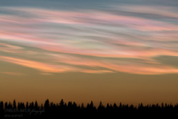 Alex Wünsch Alexandra Wünsch Einblick-Natur Fotografie Naturfotografie Winter Finnland Perlmuttwolke polare Stratosphärenwolke